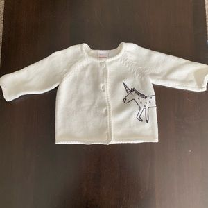 Hanna Anderson sweater 3-6months